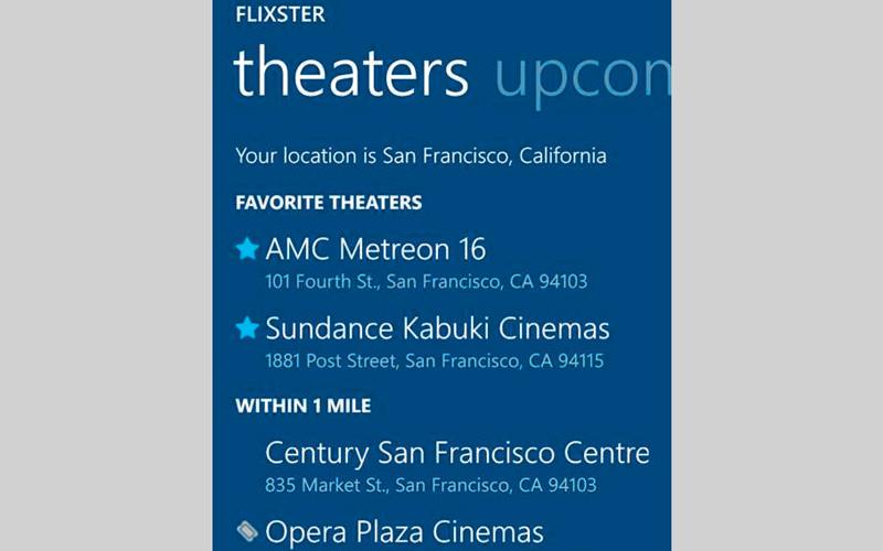 Flixster.. للتعرف إلى الأفلام الجديدة ومواعيد عرضها