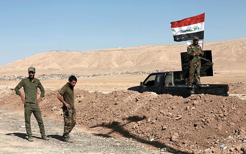 القوات العراقية استولت على مدينة كركوك بسهولة. أ.ب