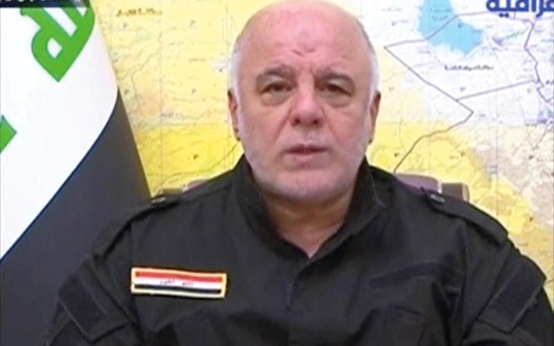 العبادي أعطى أمر طرد الأكراد من كركوك ومحيطها. رويترز