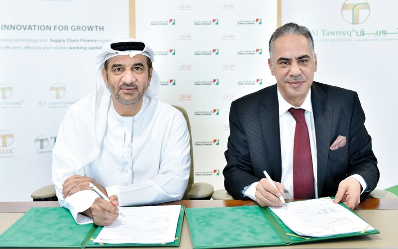الصورة: اقتصادية دبي تطلق برنامجاً متوافقاً مع الشريعة لتمويل الموردين