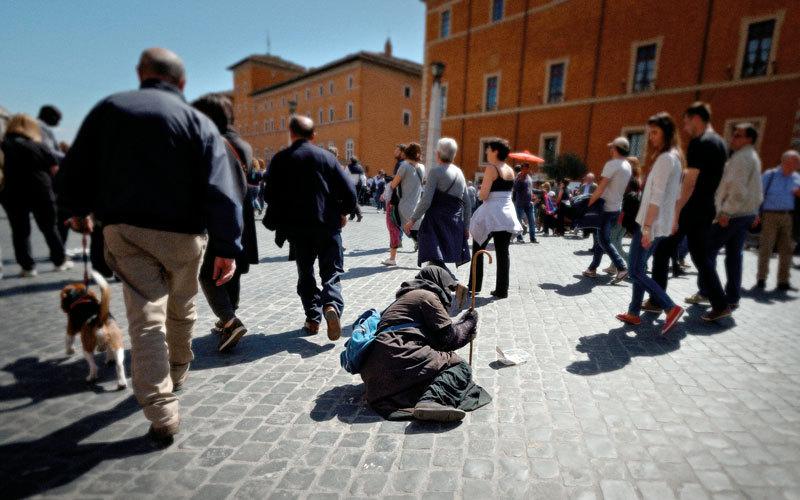 تزايد أعداد الفقراء في إيطاليا