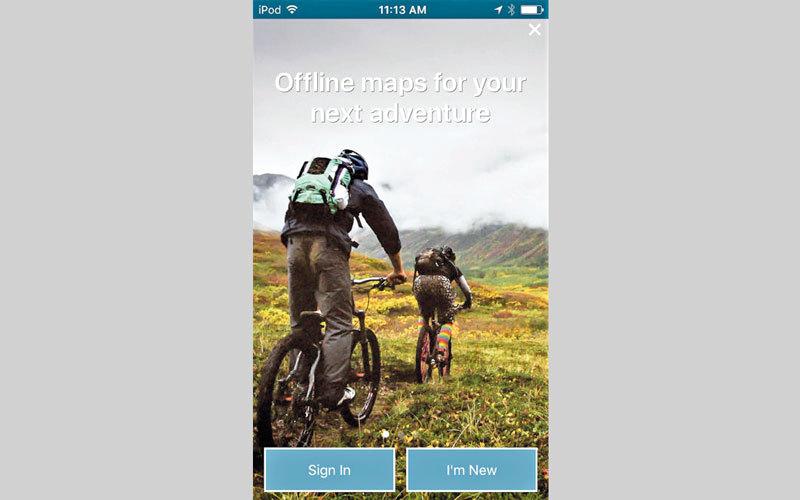التطبيق يتضمن خرائط خاصة بالسياحة والسفر والمواقع التاريخية. من المصدر