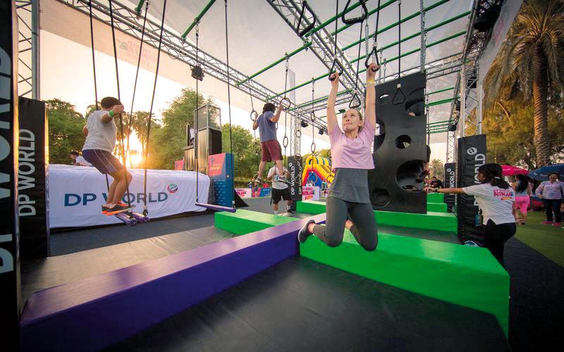 4 مهرجانات جديدة ضمن «تحدّي دبي للّياقة»