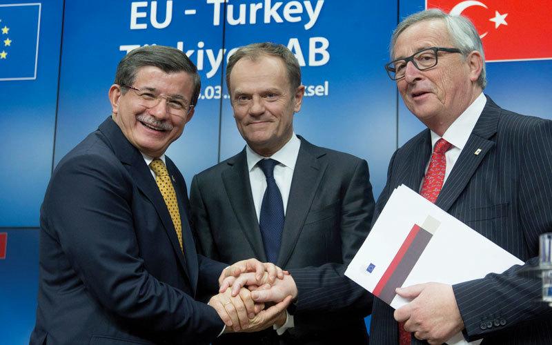 المفاوضات على انضمام تركيا للاتحاد وصلت إلى طريق مسدود.  أرشيفية