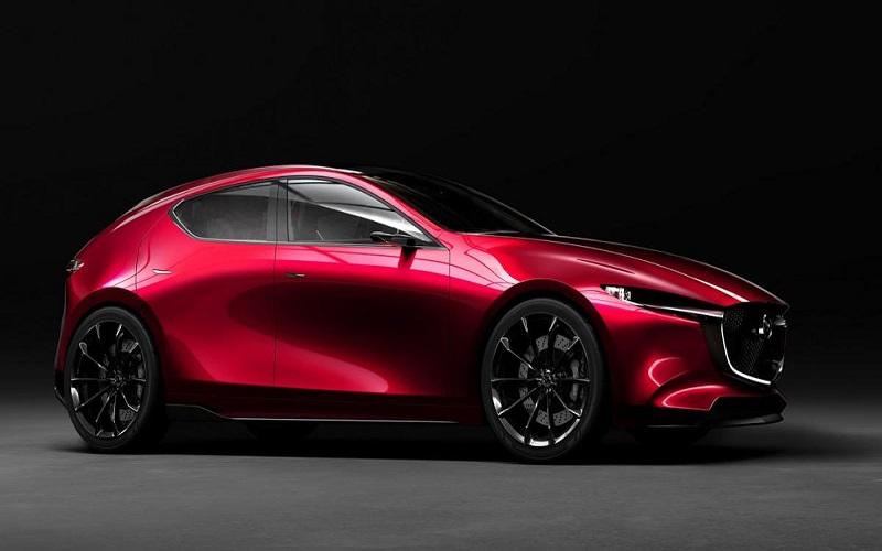 """بالصور: """"كاي"""" سيارة اختبارية تمهد الطريق للجيل المقبل من """"مازدا 3"""""""