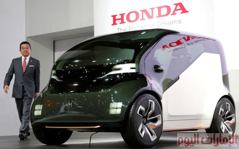 هوندا تقدم  أحدث إصداراتها  سيارة كهربائية جديدة من نوع  NeuV .