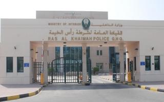 الصورة: دوريات شرطة رأس الخيمة تتزين بشعارات انتخابات «الوطني»