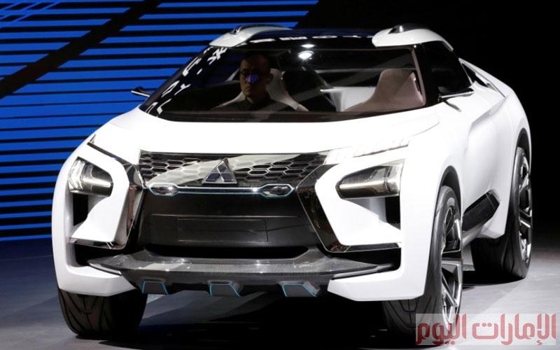 ميتسوبيشي تكشف عن E-Volution  السيارة الكهربائية  الجديد في معرض طوكيو الدولي للسيارات. المصدر- رويترز