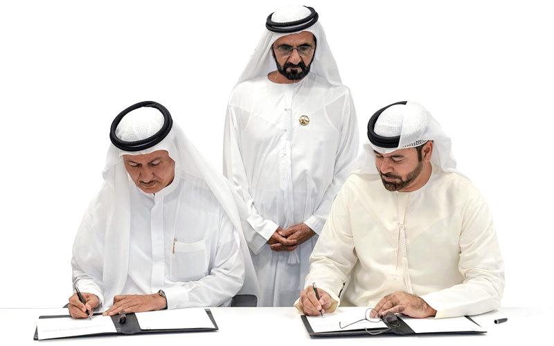محمد بن راشد: القطاع الخاص شريك في التنمية وبناء مجتمعات الغد