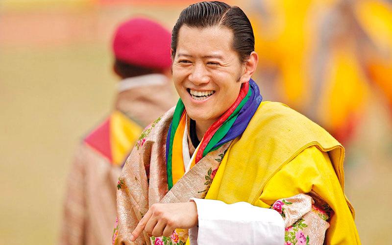 ملك بوتان جيغمي خيزار نامجيل وانغشوك يبلغ من العمر 37 عاماً. غيتي