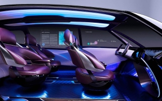 """الصورة: بالصور: """"تويوتا"""" تقدم """"Fine-Comfort Ride"""" الاختبارية ذاتية القيادة"""