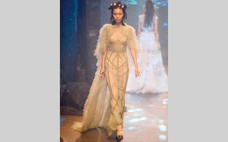 «أماتو كوتور».. أزياء من عالم البحار