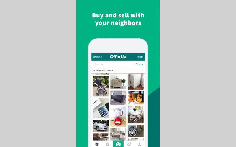 التطبيق يتيح إضافة الشيء المراد بيعه إلى قوائم البيع خلال 30 ثانية. من المصدر