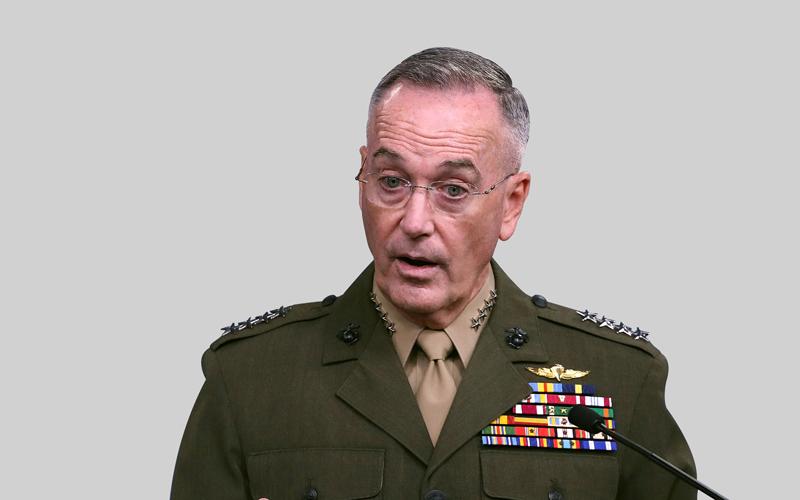 دانفورد: لا يمكن تصور وجود خيارات عسكرية للاستجابة للقدرات النووية لكوريا الشمالية  غيتي