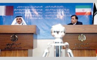 الصورة: الدوحة: الاستثمارات مع إيران «باقية وستتضاعف»