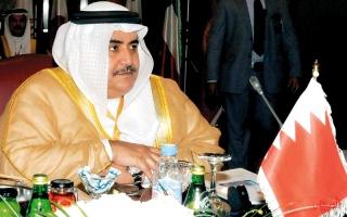 الصورة: وزير خارجية البحرين: قطر لا تحترم  «التعاون الخليجي»