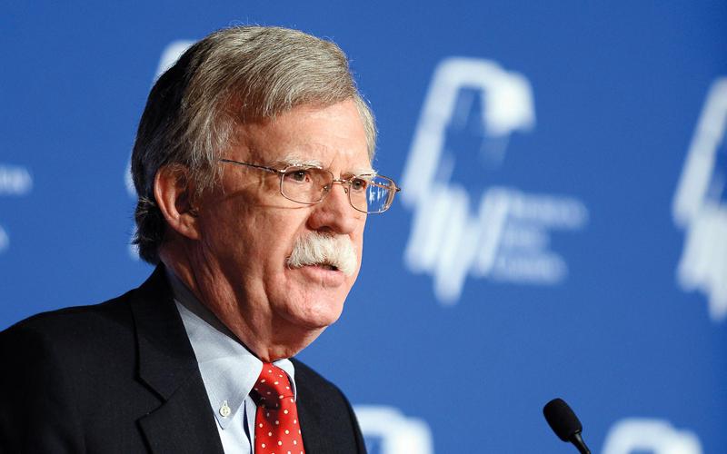 جون بولتون يؤيد ضربة أميركية تهدف إلى اغتيال الرئيس الكوري. غيتي