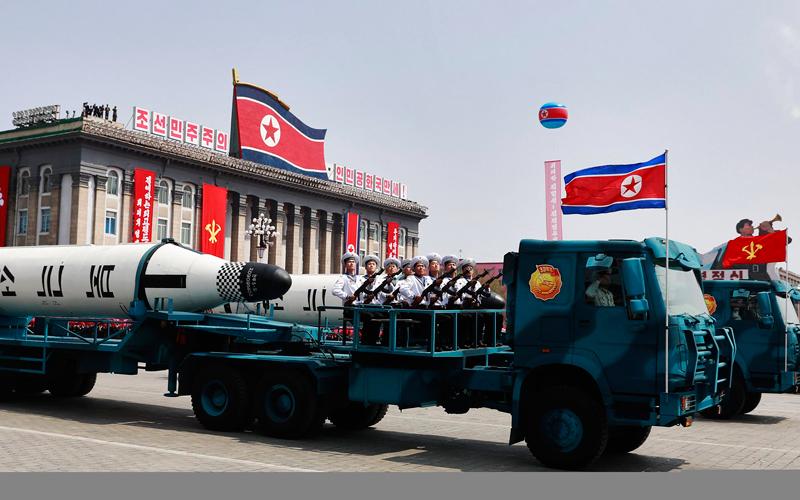 بيونغ يانغ مستعدة لتدمير مدن رئيسة في كوريا الجنوبية. أرشيفية