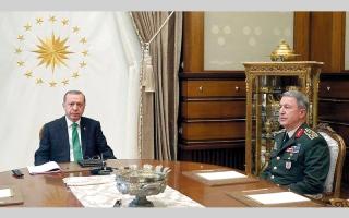 الصورة: تركيا تتغزل في قطر وتبحث إرسال قوات جديدة