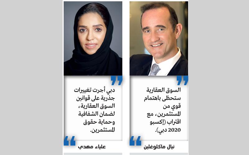 19.1 مليار درهم تصرفات عقارات دبي في أكتوبر بنمو 46%