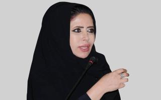 الصورة: ابتسام الكتبي: قطر تسعى لزعزعة استقرار دول المقاطعة
