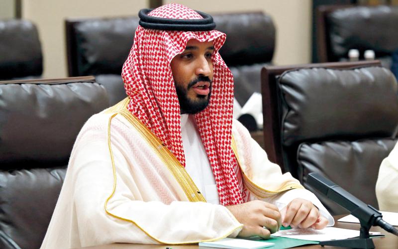 الأمير محمد بن سلمان رئيساً للجنة مكافحة الفساد. أرشيفية