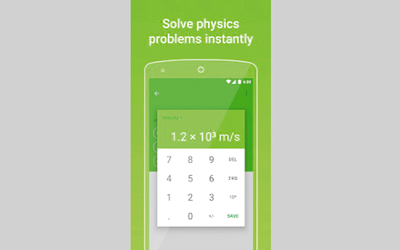 التطبيق يتضمن 30 موضوعاً فيزيائياً. من المصدر
