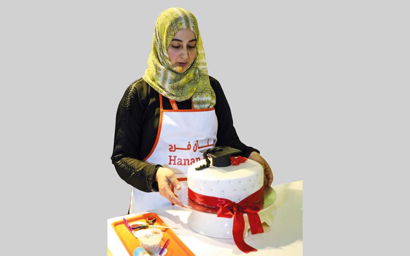 ضيفة ركن الطهي حنان فرح.  من المصدر