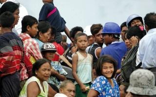 الصورة: أطفال الروهينغا يدفعون ثمن اضطهاد المسلمين في ميانمار