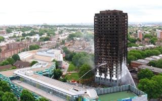 الصورة: ضحايا حريق بناية لندن في انتظار تسليمهم مساكن دائمة