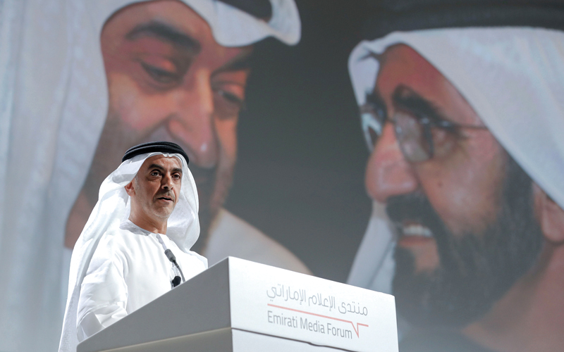 محمد بن راشد: رسالة الإمـــارات إلى العالم سلام وتسامح