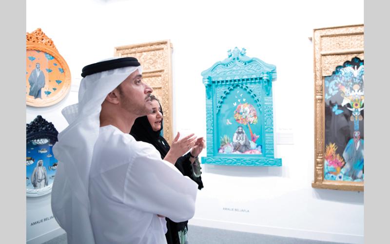 هزاع بن زايد: «فن أبوظبي» حوار جمالي مفتوح على المعرفة