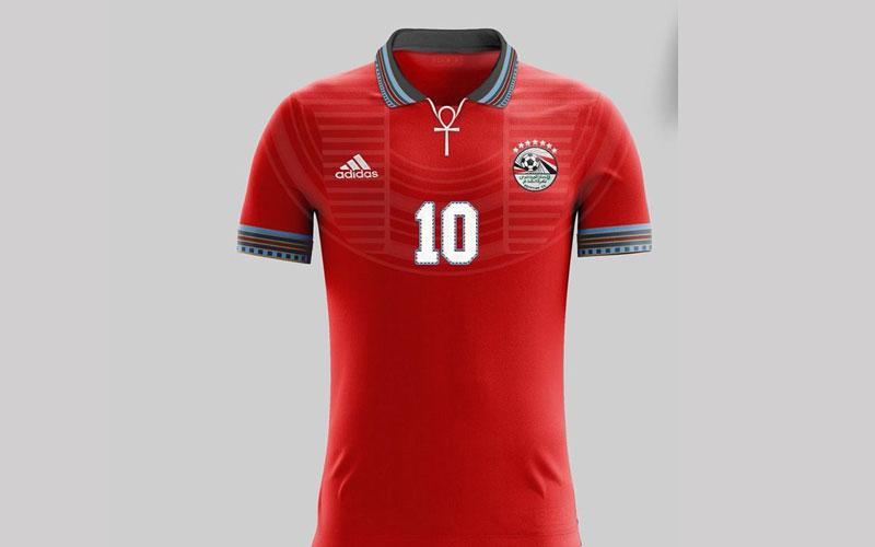 بالصور...كيف أبدع المصريون في تصميم قميص منتخبهم في كأس العالم 2018