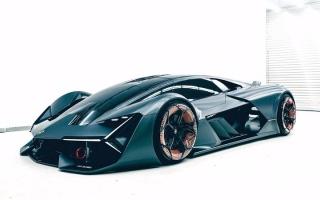"""الصورة: كيف ستبدو سيارات """"لامبورغيني"""" بحلول عام 2040؟ ... شاهد الصور"""