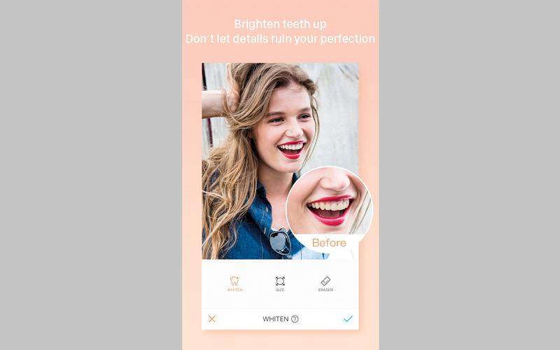التطبيق يوفر أدوات ومرشحات لتعديل الصور. من المصدر