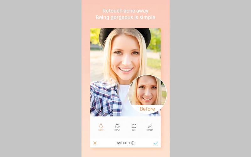 AirBrush: Easy Photo Editor.. لتحسين جودة الصور الملتقطة