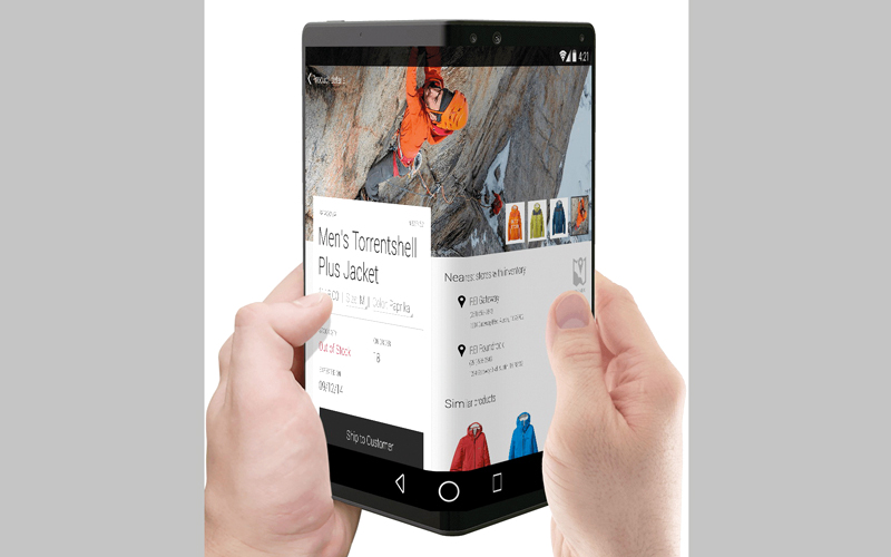 مصممو الهواتف الذكية يستهدفون من وراء خاصيتَي «الشاشة الثنائية» و«القابلية للطي» منح المستخدم القدرة على فتح تطبيقين مختلفين في وقت واحد. من المصدر