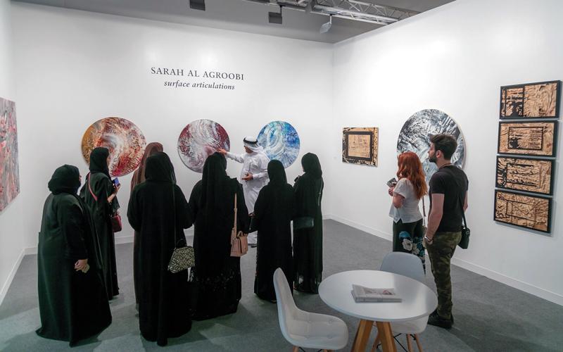 يتيح المعرض أمام الزوّار برنامجاً فنياً متنوّعاً وفعاليات تثري تجربة زوّاره من كل الخلفيات. من المصدر