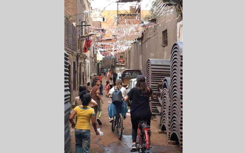 المبادرة وصلت إلى الأحياء الفقيرة في القاهرة. الإمارات اليوم
