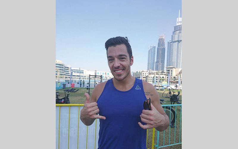 «تحدي اللياقة دبي» يحط رحاله   في «حديقة البرج» - الإمارات اليوم