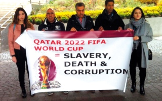 الصورة: منظمات حقوقية بفيينا رفضت استضافة قطر مؤتمراً دولياً لمكافحة الفساد