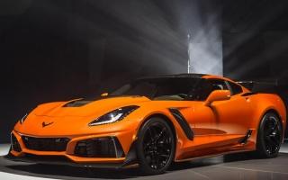 """الصورة: """"شيفروليه"""" تكشف عن أقوى سيارات """"كورفيت"""" على الإطلاق"""