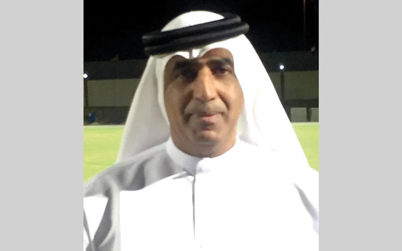 سعيد المحرزي : نادي مسافي لا يتلقى مردوداً مالياً، باستثناء 200 ألف درهم شهرياً من اتحاد الكرة مخصصة لدفع الرواتب.