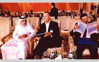 الصورة: سياسي إسرائيلي يدعو من قطر إلى «التعاون الإقليمي»