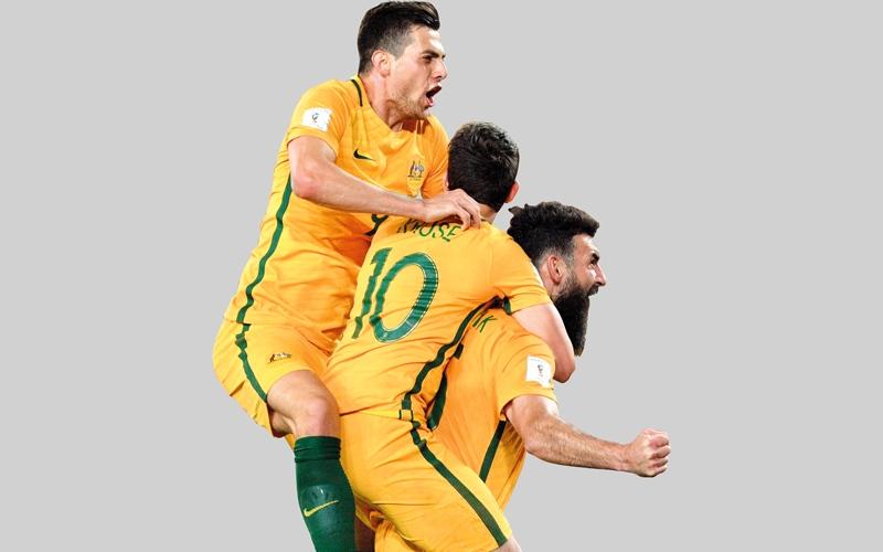 الصورة: أستراليا تبلغ المونديال للمرة الرابعة على التوالي