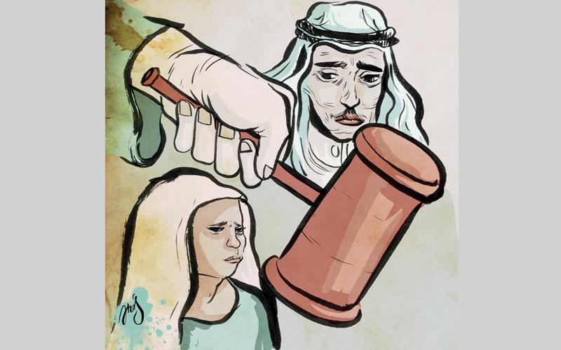 الصورة: أم تطلب من المحكمة عدم   رؤية ابنيها الكبيرين