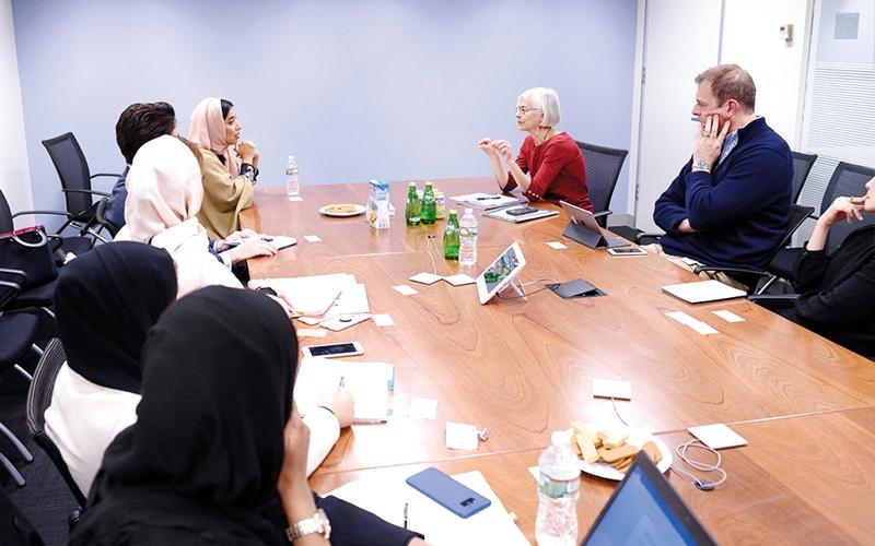 الصورة: «الإمارات للتوازن بين الجنسين» يعزز شراكاته العالمية