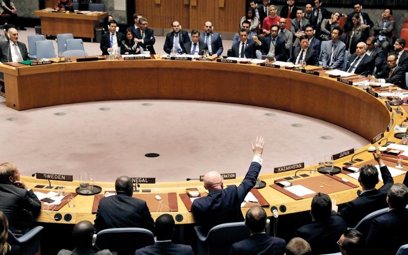 الصورة: مجلس الأمن يفشل في تمديد مهمة التحقيق حول «كيماوي» سورية
