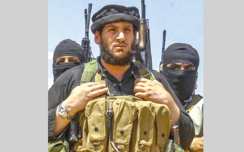 «أبومحمد» العدناني المتحدث السابق باسم «داعش». أرشيفية
