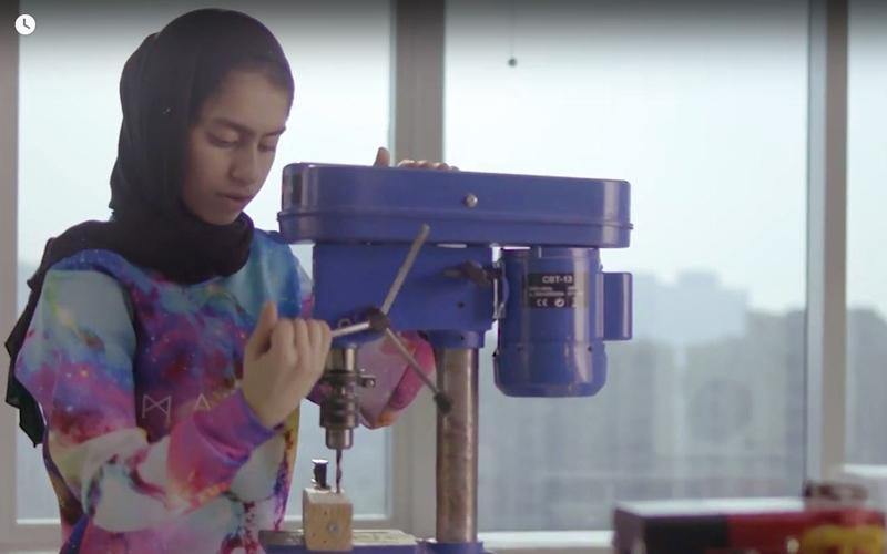الصورة: أصغر مخترعة إماراتية: الابتكار ليس حكراً على الرجال